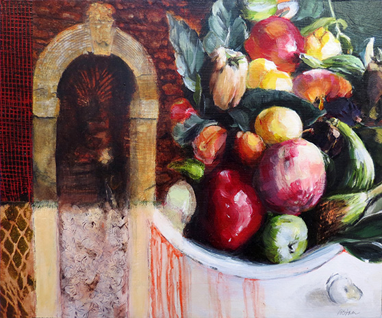 Fruit Bowl at Your Doorway - Tuscany